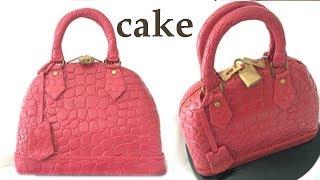Hand Bag CAKE tutorial How To Cook That Ann Reardon