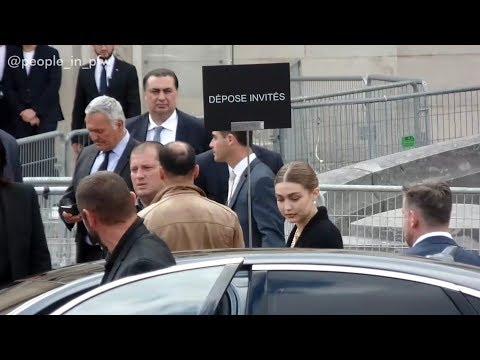 Gigi Hadid, Caroline De Monaco, Charlotte Casiraghi And Brigitte Macron - Karl Lagerfeld For Ever
