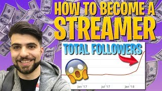 HOW TO Become a Streamer | Expert Tips and Tricks (Fortnite Battle Royale)