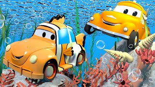Малярная Мастерская Тома - Генри - Немо - Автомобильный Город 🎨 детский мультфильм