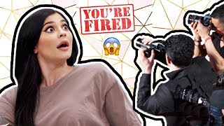 Pregnant Kylie Jenner CAUGHT her Employee Snapping Pics