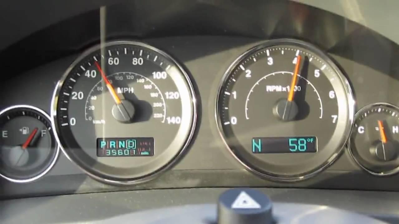 Grand Cherokee Overland >> Jeep Grand Cherokee 5.7 HEMI 25 to 110mph - YouTube