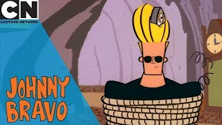 Johnny Bravo   Chased By the Time Bear   Cartoon Network