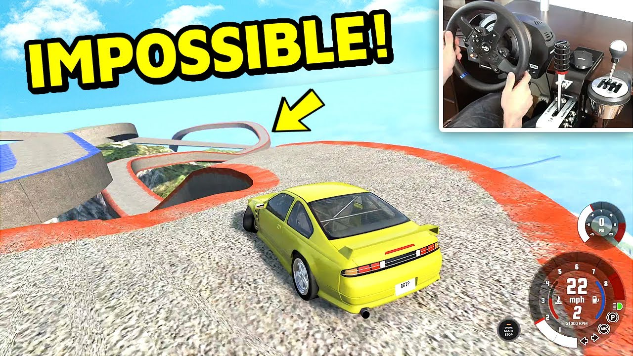 Download Only 1% Can Drift This Track in BeamNG!