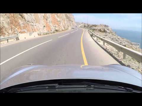 Spirited drive with a Porsche Cayman S in the Musandam peninsula