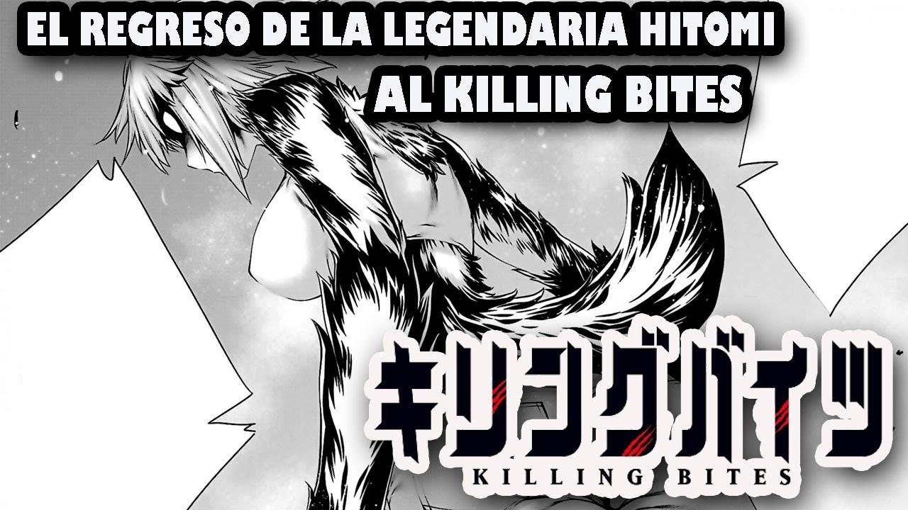 Download HITOMI REGRESA AL KILLIN BITES I  ¿NOMOTO ES UN TERIANTROPODO? I LA BATALLA DE PUR I KILLING BITES6