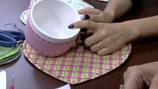 Sônia Maria Mostachio – Conjunto café da manhã patch
