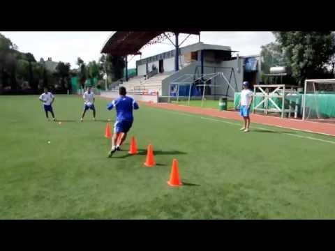 Blazing FootballSoccer Speed: Agility with ball skills