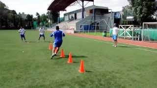 Blazing Football/Soccer Speed: Agility with ball skills