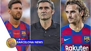 Barcelona boss valverde gives messi injury update and hails one part of griezmann display- news now