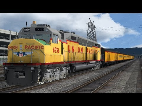 Train Simulator : UP 6936 Cab Ride on Peninsula Corridor