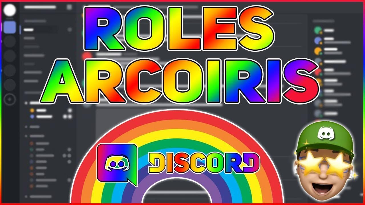 Roles Arcoiris Discord 2021