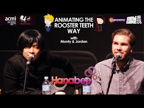 Animating the Rooster Teeth Way Panel w/ Monty and Jordan