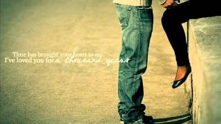 Christina Perri ft. Steve Kazee - A Thousand Years ♥