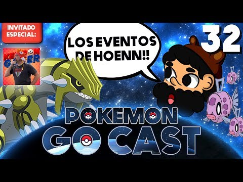 UN HOENN LLENO DE EVENTOS!! ft. KEIBRON | POKEMON GO CAST EP 32 | 8BitCR thumbnail