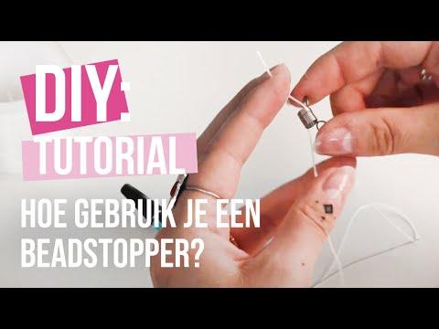 Basistechniek sieraden maken: hoe gebruik je een beadstopper?