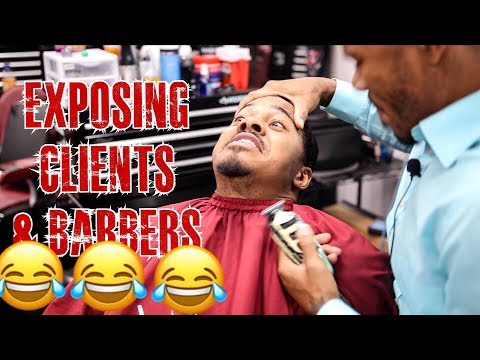 EXPOSING BARBERS AND CLIENTS IN BARBERSHOPS