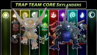Skylanders Trap Team Core Figures FULL 18 Light Dark Character Roster Checklist