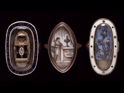 The History & Origins of Victorian Mourning Jewelry