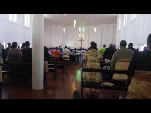 Nedělní kostel - Nuku'alofa, Tongatapu, Tonga