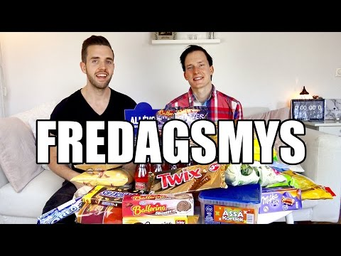 Vi Äter Sveriges Största Fredagsmys