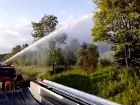 Fire truck deck gun!!!
