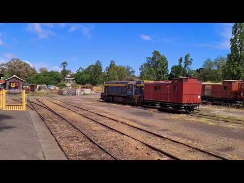 Visiting Old Gold Mining Towns (Victoria, Australia) 2020