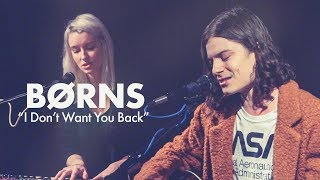 "BØRNS ""I Don't Want U Back"" LIVE in the Dell Music Lounge [Performance] 
