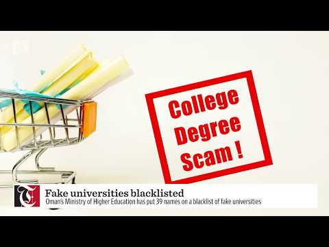 Oman Identifies 39 Fake Universities Worldwide Times Of Oman