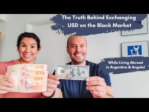 How The Black & Blue Currency Exchange Markets Work In Argentina & Angola