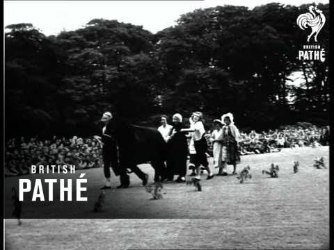 Princess Margaret In Yorkshire - Leeds Territory Only (1954)