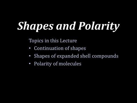 GenChem1-25Shapes and Polarity