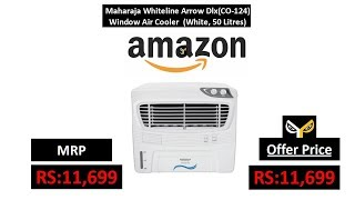 Maharaja Whiteline Arrow Dlx(CO-124) Window Air Cooler (White, 50 Litres)