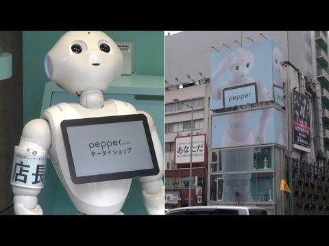 Pepper-Packed Mobile Shop: the cellphone store ran by only robots