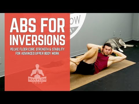 beginner exercises to strengthen core for inversions