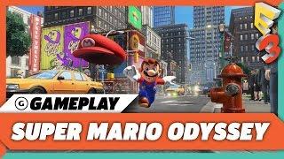 Super Mario Odyssey New Donk City Demo | E3 2017 Nintendo Treehouse