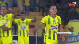 Bucaramanga vs Cali - Mejores jugadas Fecha 18 | Liga Aguila 2018-II