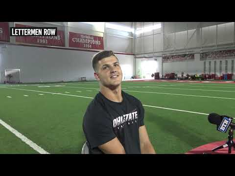 Jeremy Ruckert: Ohio State tight end talks about his blocking progression
