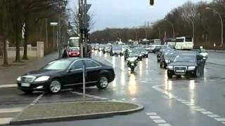 Sheikh Mohammed bin Rashid - Amazing 46 vehicle  Berlin