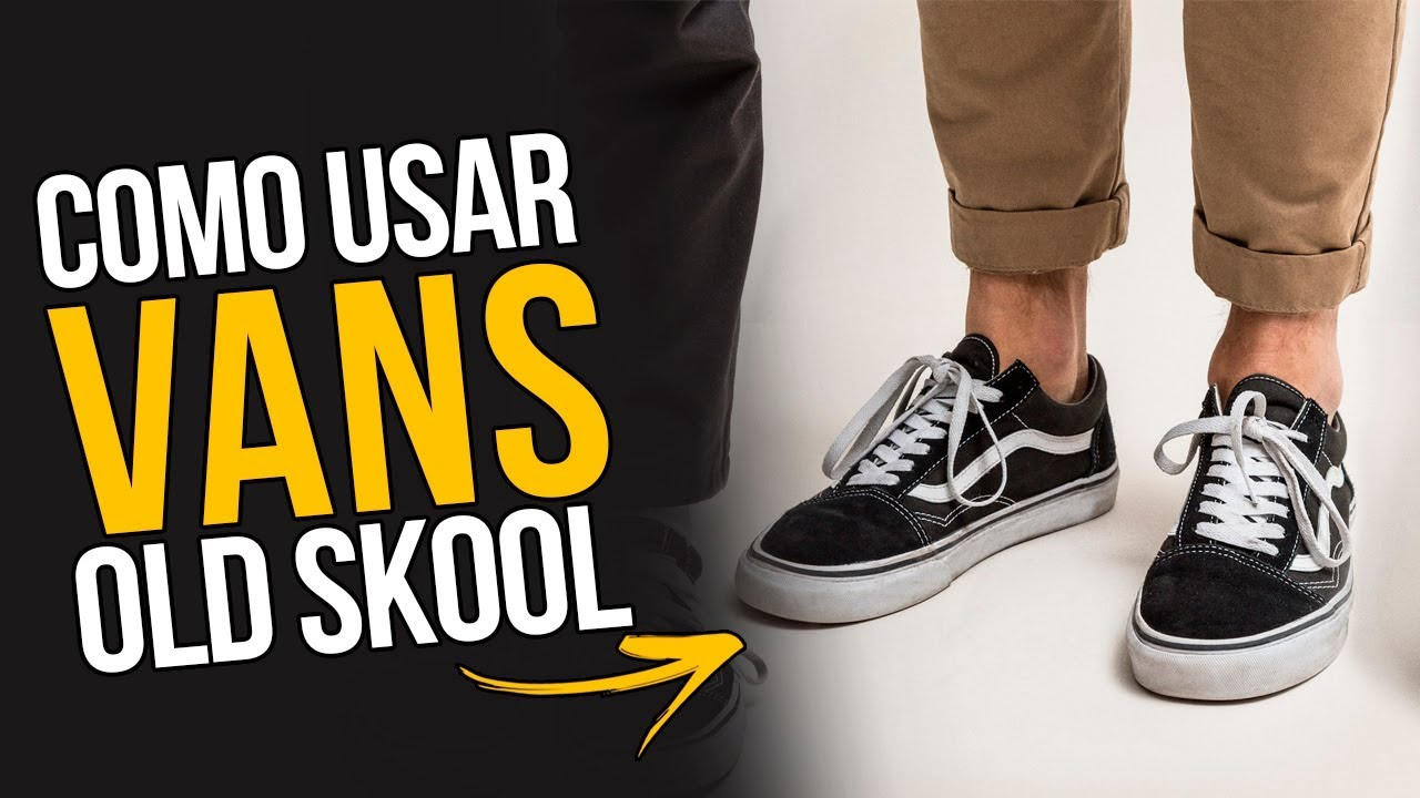 Looks com VANS OLD SKOOL Masculino  Como Usar   DicasMM - YouTube 69ba92358