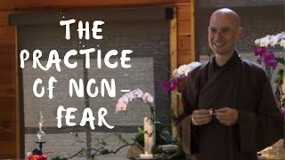"""The Practice of Non-Fear"" Dharma Talk by Thay Phap Luu (Br. Stream) 2015.09.02"