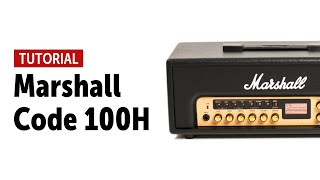 Marshall CODE 100H Tutorial