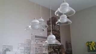видео светодиодные люстры с пультом