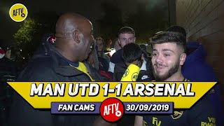 Man United 1-1 Arsenal | Did Emery Set Up Arsenal Too Negatively?? (Fans Round Up)