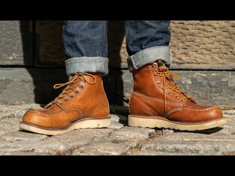 RED WING VS THOROGOOD: Which Moc Toe Is Best?