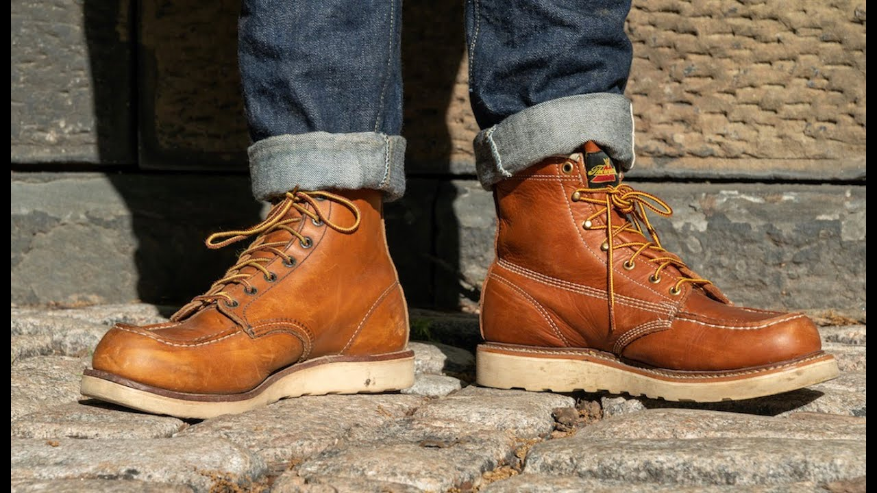 RED WING VS THOROGOOD: Which Moc Toe Is