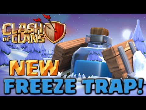 Thumbnail: Clash of Clans NEW Freeze Trap - Full Army Challenge! Clashmas Gift #2