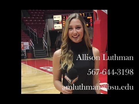 Allison Luthman Sideline Reporter / MMJ...