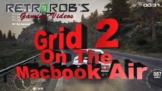 Mac Gaming: Grid 2 Running on the Macbook Air