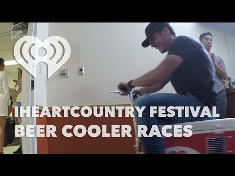 iHeartCountry Festival Beer Cooler Races | Artist Challenge